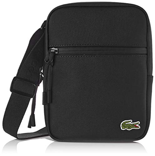 Lacoste - Nh2884po, Shoppers y bolsos de hombro Hombre, Negro (Black), 2.5x20.5x15.5...