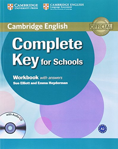 Complete Key for Schools Workbook with Answers with Audio CD [Lingua inglese]