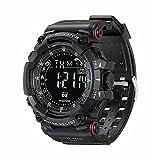 HGFF Relojes de Pulsera para Hombre, Reloj Bluetooth ejecutando Reloj...