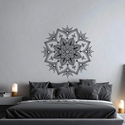 Mandala vinilo pared pegatina meditación Yoga estudio pared decoración Mandala viento pared pegatina