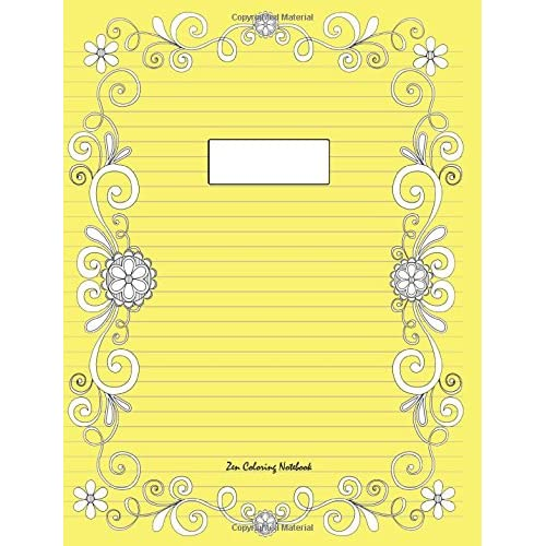 Coloring Notebooks: Amazon.com