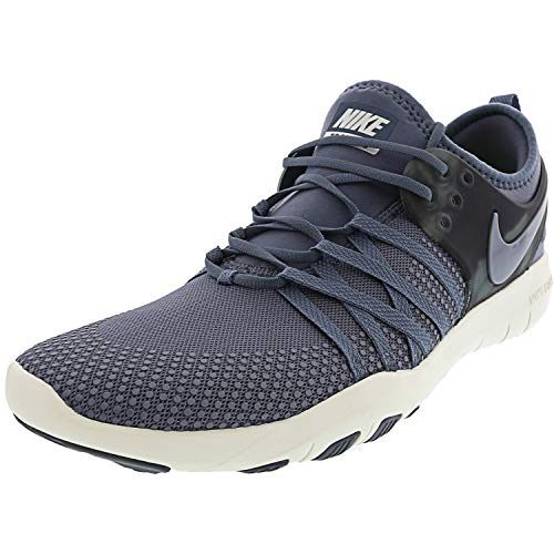 Nike Free Tr 7 Amp Womens Cross Training Shoes (8.5, Armory Blue/Armory Blue-Thunder Blue)