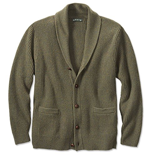 Orvis Mens Blue Ridge Shawl Sweatshirt