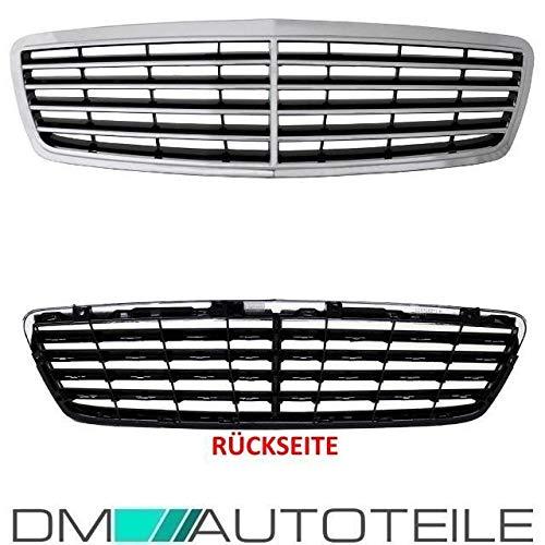 DM Autoteile C-Klasse S203 W203 Kühlergrill Avantgarde Elegance 00-07 Chrom Schwarz