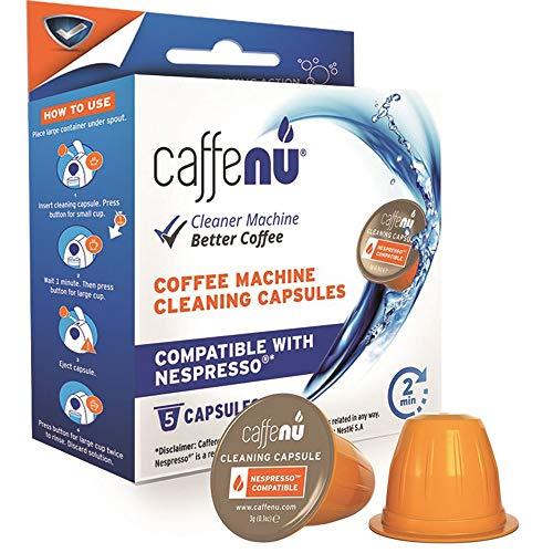 Kompatible Reinigungskapseln für Ihre Nespresso Maschine (1 Packungen mit 5 Kapseln)