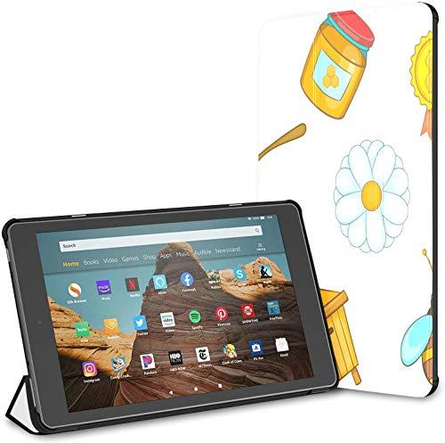 Estuche para Cuchara Suministros de Cocina Herramientas para Comer Tableta Fire HD 10 (9.a / 7.a generación, versión 2019/2017) Fundas y Cubiertas para Tableta Kindle Fire 10 Estuches para Tableta Au