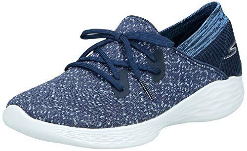 Skechers You-14964 - Sneaker da donna, Blu (Marina Militare), 38 EU