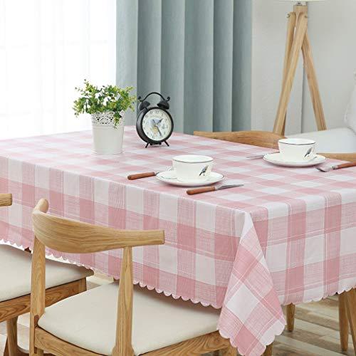 BPDD  Características:  Estos manteles se adaptan a una Mesa Rectangular de hasta 4~6 plazas, adecuados para Mesa de Comedor, Mesa de café, etc.  Limpie el Mantel Limpio, no es NEC