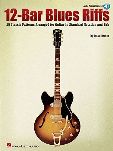 12-Bar Blues Riffs (Book & CD): Noten, Lehrmaterial, Bundle, CD für Gitarre (Riff Notes)