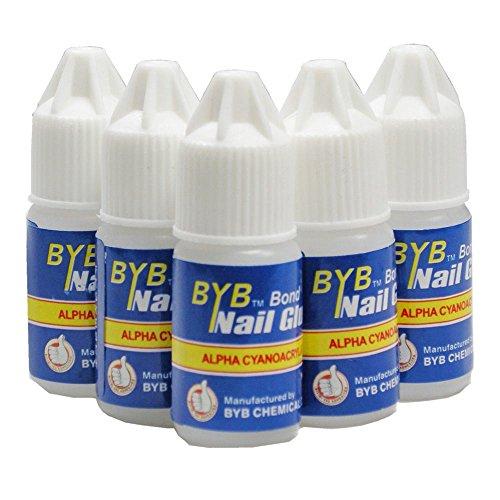 Flybuld 5pz/set colla per unghie uso per strass...