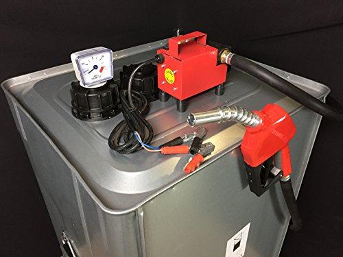 1 Set Roth Diesel Tank 400 Liter 24V Lager-Tank-Stelle Diesel-Pumpe Hof-Tankstelle Dieseltank Hergestellt in Deutschland