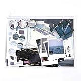 MAXLEAF 64PCS Literary Vintage Ins Style Scrapbook Bullets Journals Decoration Material Pack for DIY...