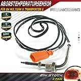 Sensor de temperatura del gas de escape Después del filtro de partículas de hollín para furgonetas V Multivan V 2006-2009 070906088AF