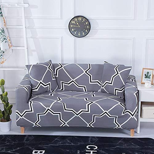 WXQY Funda de sofá con diseño de Flor de melocotón, Funda de sofá elástica para Sala de Estar, Funda de sofá, Funda de sofá con Todo Incluido, Funda de sofá A22 de 2 plazas