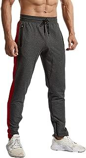Rdruko Men's Sports Joggers Pants Athletic Sweatpants Gym Workout Pants Slim Fit with Pockets