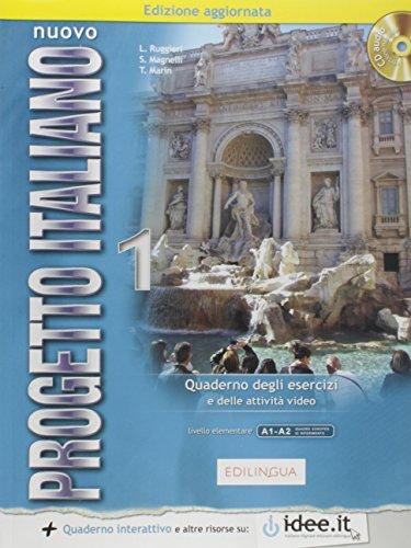 Nuovo progetto italiano. Con CD Audio: NUOVO PROGETTO ITALIANO 1 QUADERNO DEGLI ESERCIZI A1-A2 ELE