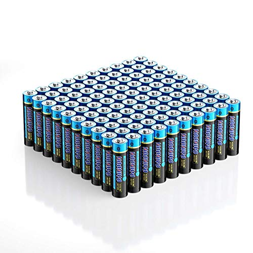 HAOHIYO AAA Battery Alkaline AAA Batteries for Household and Business (100-Pack)