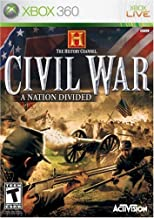 History Channel Civil War: A Nation Divided - Xbox 360 (Renewed)