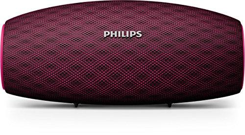 Philips BT6900P/00 Mono portable Bocina 10W Tubo Rojo Bocina portátil - Bocinas portátiles (1.0 channels, 5.08 cm (2'), 10 W, Inalámbrico y alámbrico, Bluetooth/3.5 mm, Bluetooth)