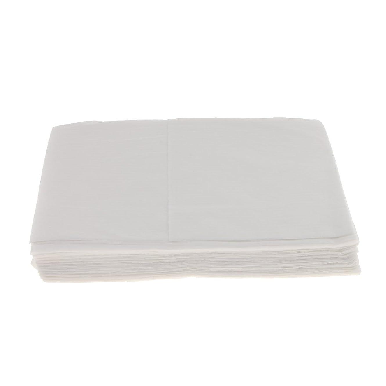 ヒゲクジラ近代化バウンスBaosity 10枚 使い捨て ベッドシーツ サロン ホテル ベッドパッド カバー シート 2色選べ - 白