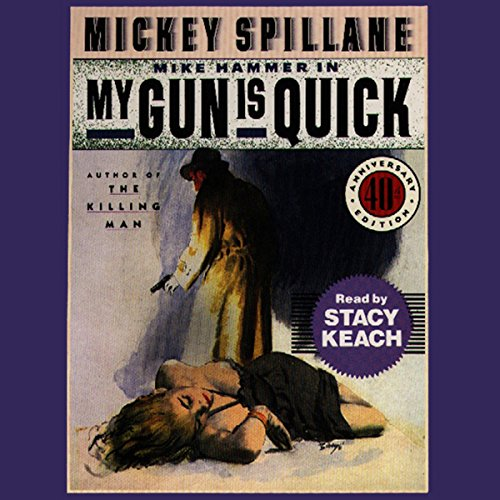 My Gun is Quick audiobook cover art