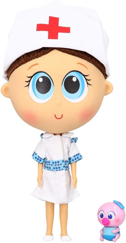 Distroller Tania-Puppe mit Mini-Ksimerito – Nerlie Neonate Babypuppe – spanisch