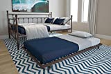 DHP Manila Metal Full Size Daybed and Twin Size Trundle (Bronze)