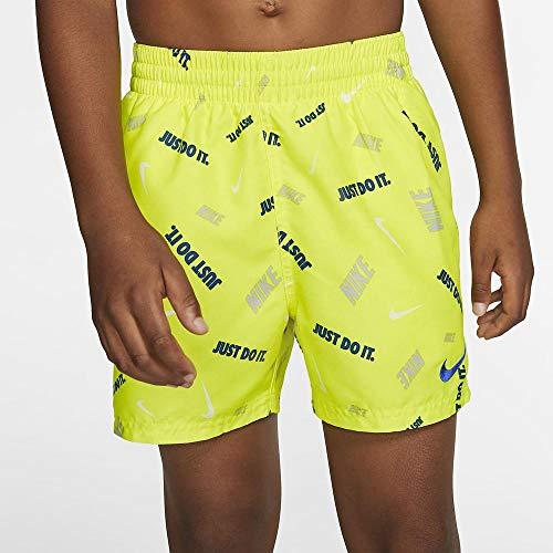 Nike 4 Volley Shorts für Kinder XS Lemon Venom