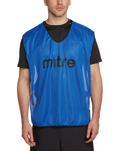 Mitre Pro Fußball Training Leibchen, blau, erwachsenengröße
