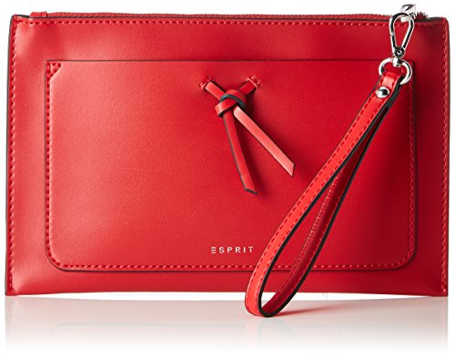 ESPRIT Damen 028ea1o038 Clutch, Rot (Red), 1x15x24 cm