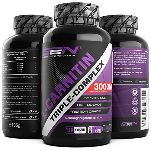 German Elite Nutrition -  L-Carnitin Triple