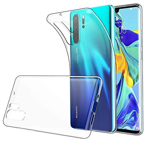 Seomusen Handyhülle Kompatibel mit Huawei P30 Pro Durchsichtige,TPU Transparent Huawei P30 Pro Hülle,Neueste Staubdichtes Design Crystal Klar TPU Case Backcover Schutzhülle für Huawei P30 Pro - 4