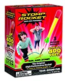100% KID powered: Run, jump and STOMP to launch these rockets up to 400 feet in the air -- that's longer than a football field, including the end zones! Includes a Stomp Launcher and 3 Super High Performance Rockets. No batteries required; super easy...