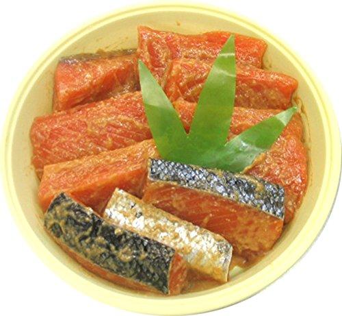 【敬老の日 プレゼント・カード付】新潟村上 鮭の味噌漬け 樽詰め 10切入