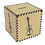 Azeeda Groß 'Geige' Sparbüchse / Spardose (MB00046376)
