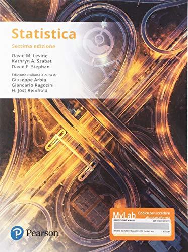 Statistica. Ediz. Mylab. Con Contenuto digitale per accesso on line