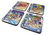 empireposter Nintendo - Gameboy - Classic Collection - 4 teiliges Untersetzer-Set je 10x10 cm in...
