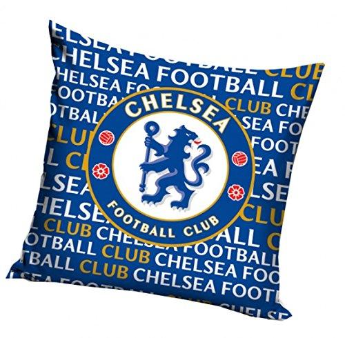 Chelsea F.C. Cuscino con logo blu 40x 40cm