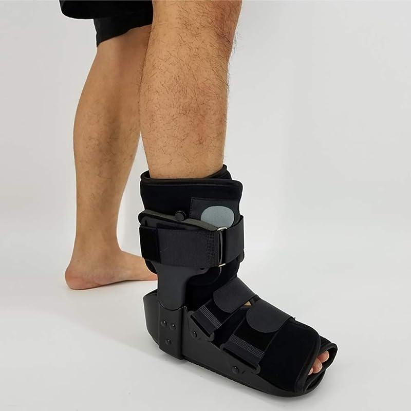 漏れスペイン語花火足首用歩行中の足の足首の保護のための骨折ブーツの短い壊れたつま先の摩耗傷害や手術から癒しの骨折の回復。