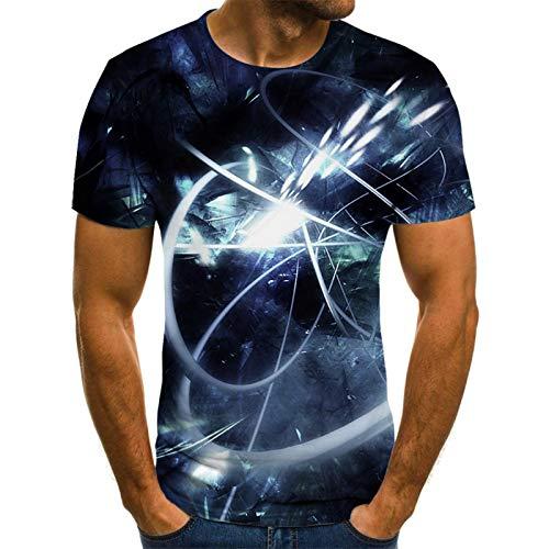 SSBZYES Camisetas para Hombre Camisetas De Manga Corta De Gran Tamaño para Hombre Camisas Casuales para Camisetas De Manga Corta con Estampado Abstracto Creativo De Manga Corta para Hombres Y Mujeres