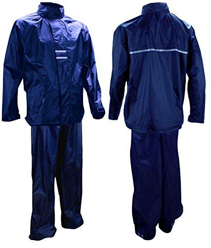 Ralka Inklusive Regenjacke und Regenhose Regenanzug, Dunkelblau, XL