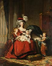 'Louise Lisabeth Vigee Le Brun-Marie Antoinette And Her Children,1787' Oil Painting, 10x13 Inch / 25x32 Cm ,printed On High Quality Polyster Canvas ,this Imitations Art DecorativeCanvas Prints Is Perfectly Suitalbe For Bathroom Gallery Art And Home Artwork And Gifts