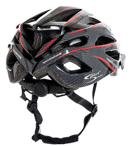 Sport Direct™ Herren Fahrradhelm Team Comp 24 Vent Graphit 58-61 cm CE EN1078:2012+A1:2012 - 7