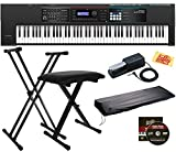 Gig-ready instrument with pro sounds, enhanced performance features, and battery-powered operation 88-note Ivory Feel-G Keyboard provides weighted-action feel in a lightweight design that's easy to transport Includes all the sounds from the popular J...