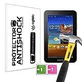 Protector de Pantalla Anti-Shock Anti-Golpe Anti-arañazos Compatible con Tablet Samsung P6200 Galaxy Tab 7.0 Plus