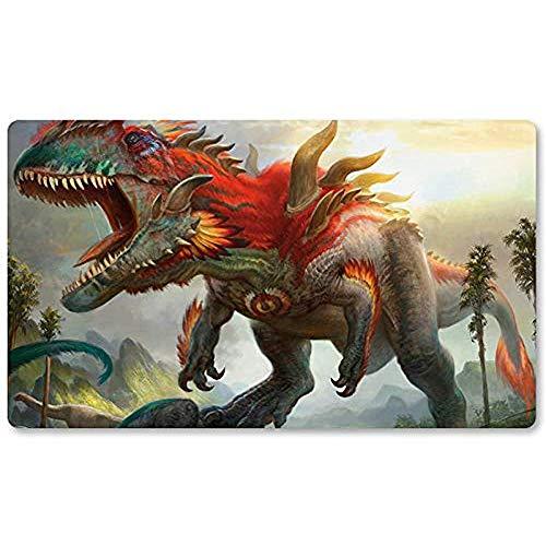 Gishath, Sun 'S Avatar - Brettspiel MTG Playmat Tischmatte Spiele Mousepad Spielmatte für Yugioh Mon Magic The Gathering 30X80CM
