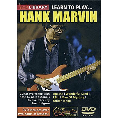 Lick Library: Learn To Play Hank Marvin [UK Import]