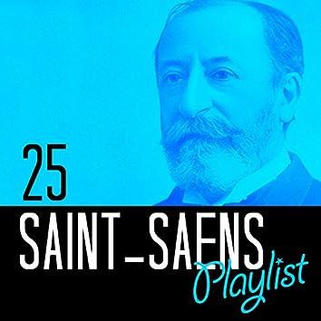 25 Saint-Saens Playlist
