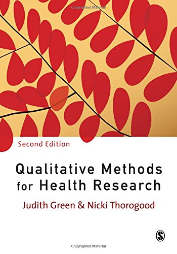Qualitative Methods for Health Research (Introducing...
