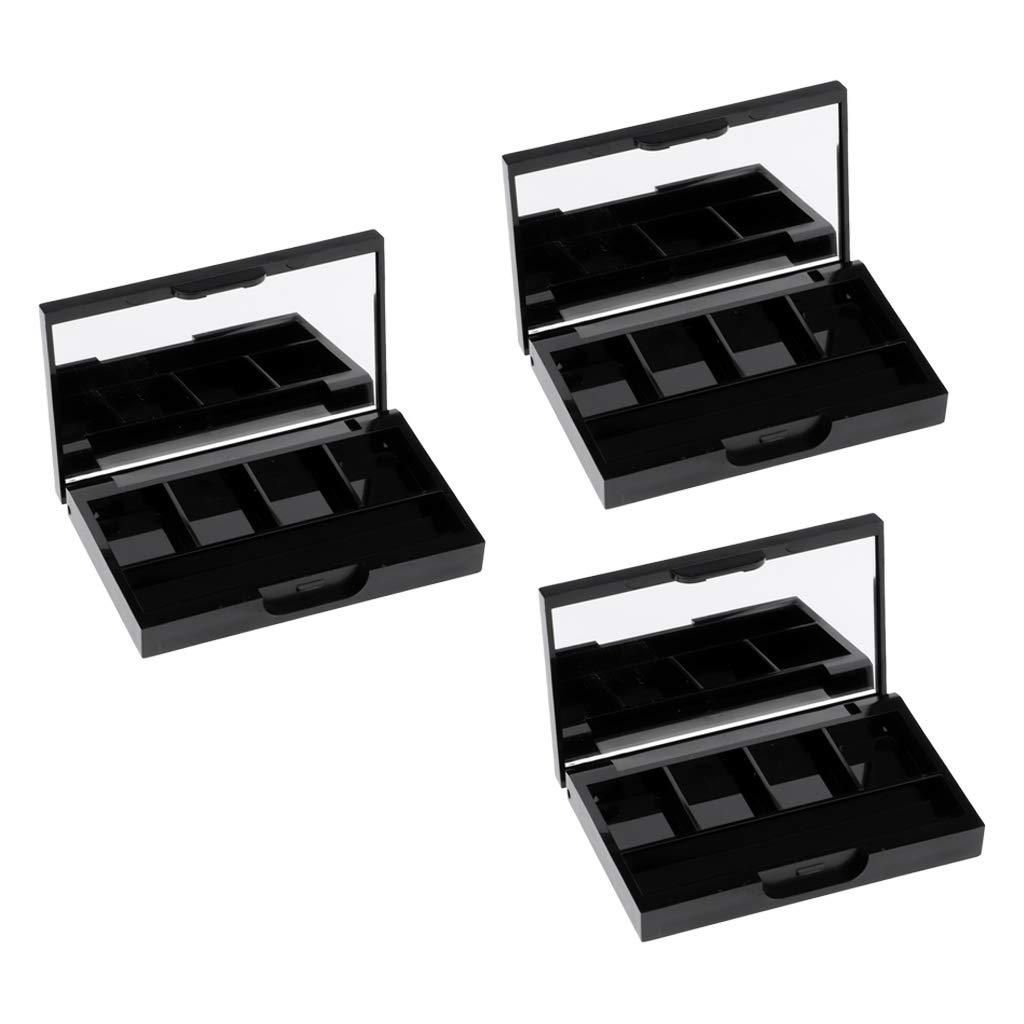 SDENSHI 3pcs Empty Eyeshadow Limited price sale Case Powder Palette shopping Cosmeti Eyebrow